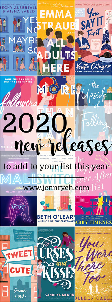 20 Books from 2020 that I can't wait to read! | Reading & Writing Rych, www.jennrych.com