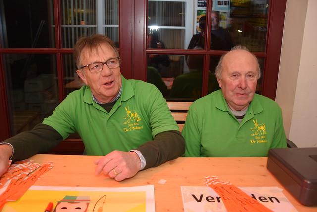 Bal van De Plakkers (zaal 't Verzet, Knokke-Heist) 18/01/2020