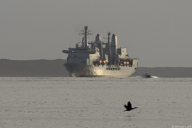 RFA Fort Victoria, A387, IMO 8606032; Firth of Clyde, Cowal, Scotland