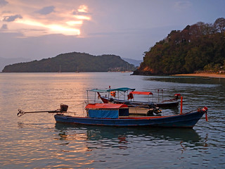 Thailand - Cape Panwa Sunset