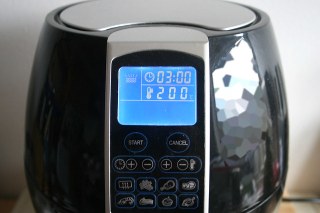 21 - Air fryer vorheizen / Pre heat air fryer