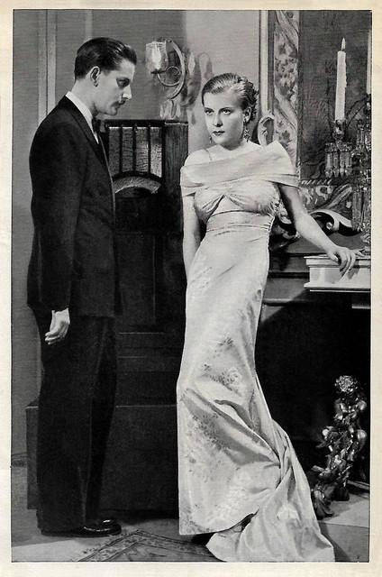 Adolf Wohlbrück and Renate Müller in Die englische Heirat (1934)