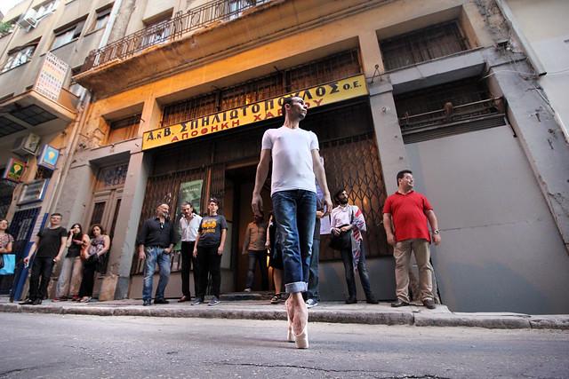 Konstantinos Anastasiadis Performance_REMINDERS_Athens Intersection