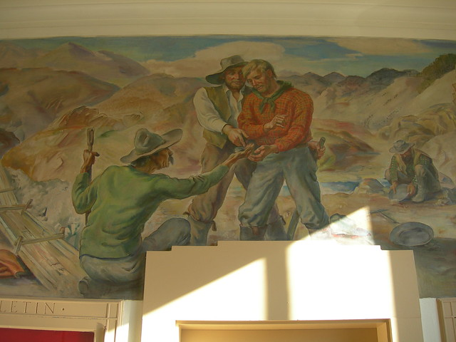 Lovelock, Nevada Post Office Mural Detail