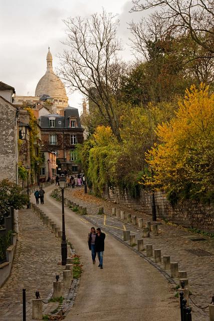 Paris - Montmartre / Rue de l'Abreuvoir
