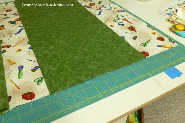Mat Carrier Tutorial at FromMyCarolinaHome.com
