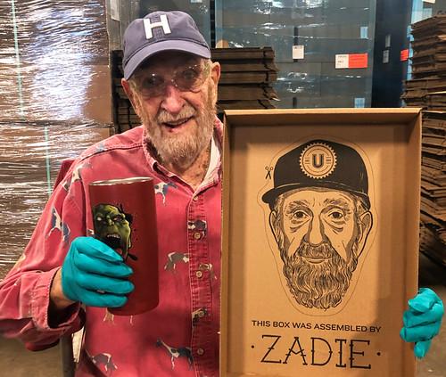Centenarian brewery worker