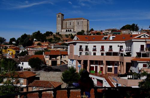 Los Santos de la Humosa, Comunidad de Madrid  lindando con Guadalajara