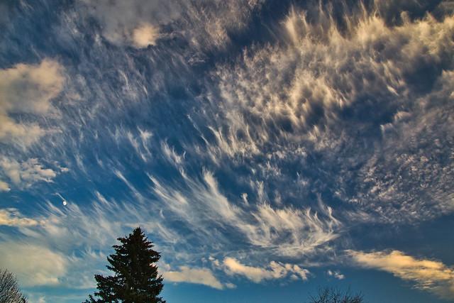 Impressive sky