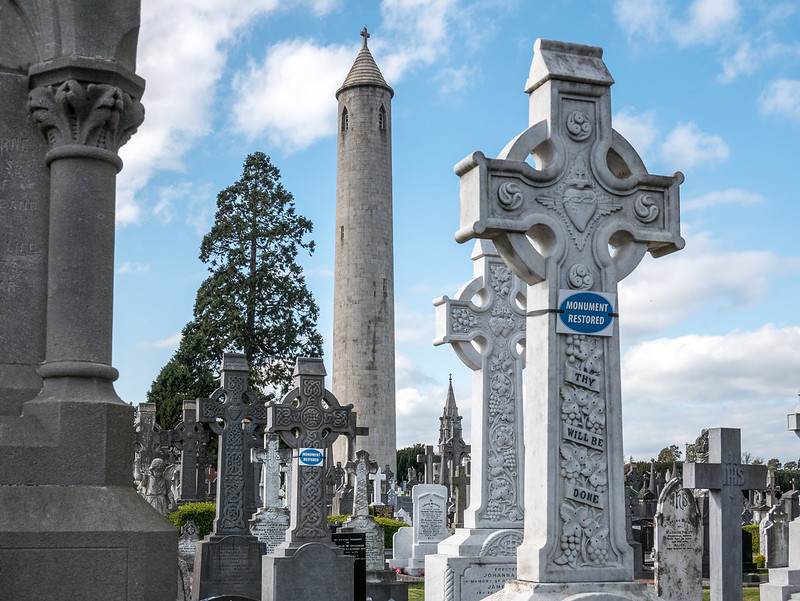 O'Connell Tower, Glasnevin Cemetery, Dublin