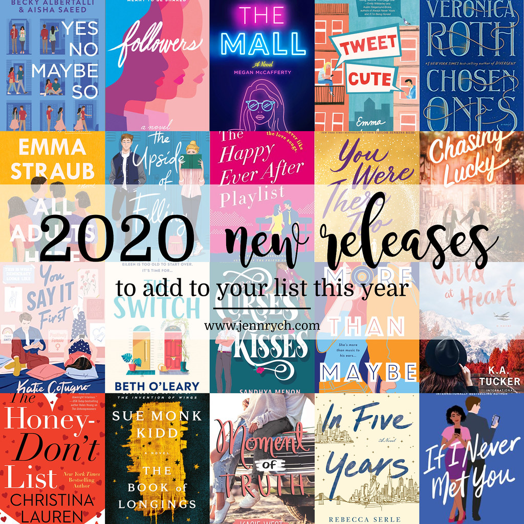 20 New Books for 2020 | Reading & Writing Rych