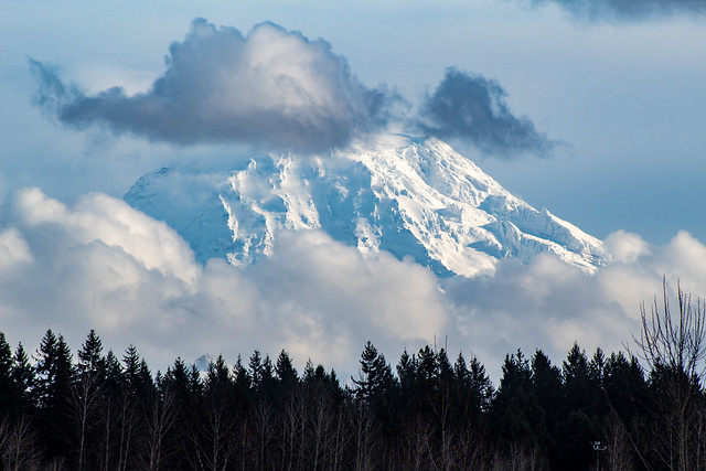 Mount Rainier from Puyallup