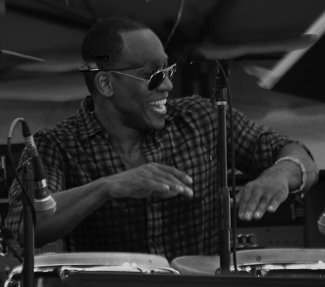 Pedrito Martinez, Detroit Jazz Fest, 2018.  Percussionist, drummer, vocalist, songwriter . . .