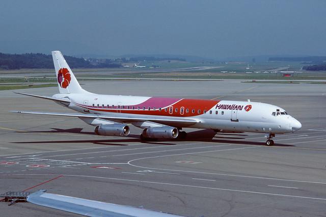 N8970U Douglas DC8-62H LSZH 25-08-88
