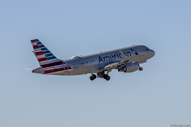 American Airlines Airbus A319-115, N9026C; DFW International Airport, Dallas, Texas, USA