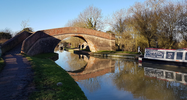 Grand Union Canal, Foxton Locks, Leicestershire