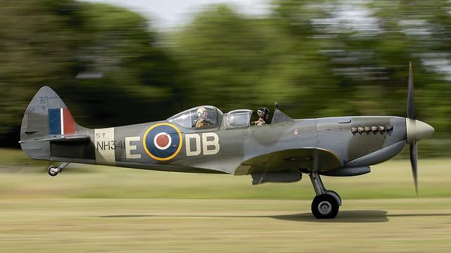 Supermarine Spitfire LF IXe. G-CICK / NH341.