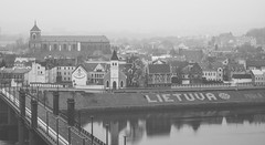 Kaunas old town panorama