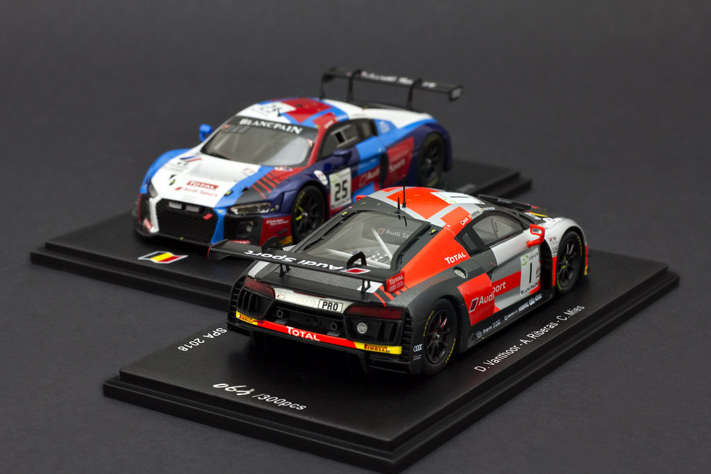 [Le Mans | Nurburgring | Spa] by Calvin - DX 1:43 (and