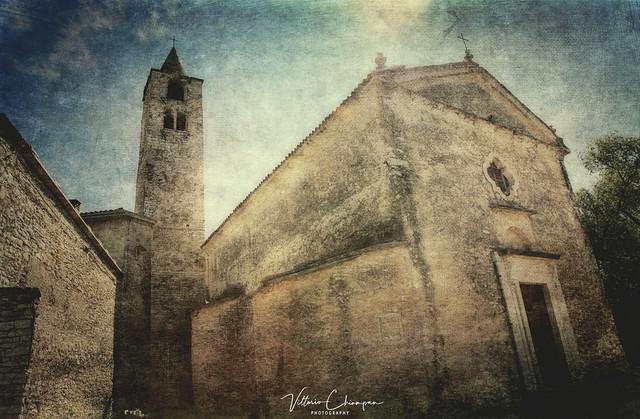 Ancient Romanesque church