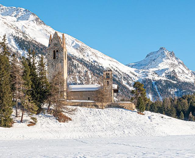 San Gian im Winter