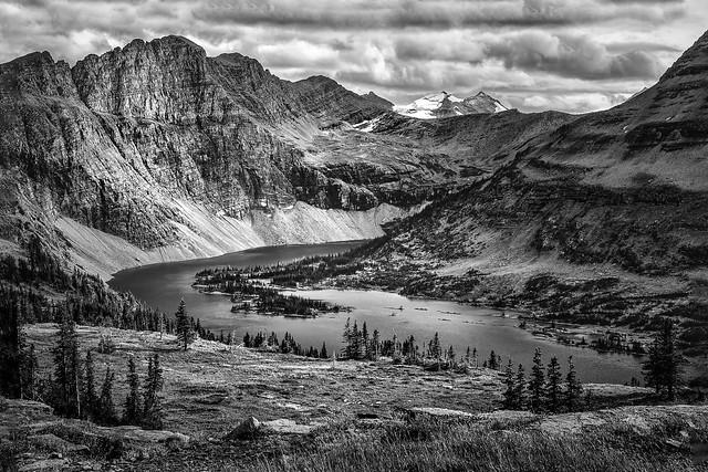 Hidden Lake Mono - Logan Pass, Glacier National Park