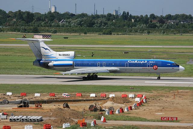 RA-85652, Tupolev Tu-154M Sibir S7 @ Düsseldorf DUS EDDL