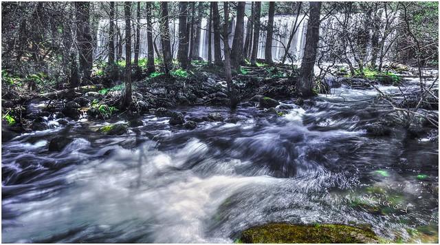 Invierno, sus aguas bajan muy frias