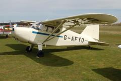 G-AFYO Stinson HW-75 [7039] Popham 110410