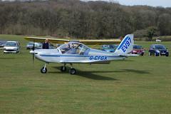G-CFGX Evektor EV-97 [2008-3212] Popham 110410