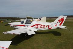 G-CDYY Alpi Aviation Pioneer 300 [PFA 330-14323] Popham 110410