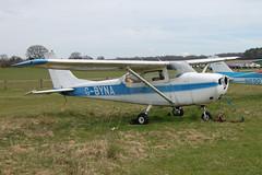 G-BYNA Reims-Cessna F172H [0626] Popham 110410