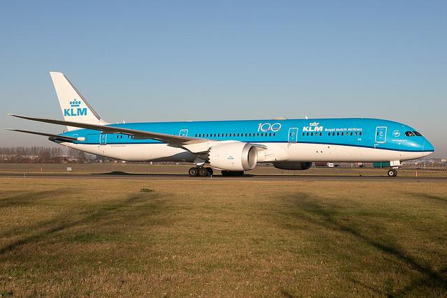 PH-BHF, Boeing 787-9 Dreamliner, KLM Royal Dutch Airlines