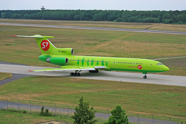 RA-85827, Tupolev T-154M Sibir S7 @ Hannover HAJ EDDV