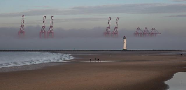 366-19 Mist over the Mersey