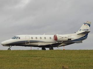 D-CRON Citation 560XLS at Cardiff