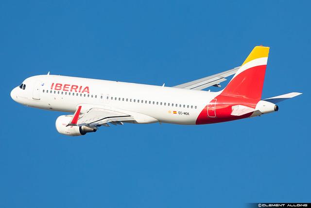 Iberia Airbus A320-214(WL) cn 6328 EC-MDK
