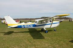 G-BHCM Reims-Cessna D117A [828] Popham 110410