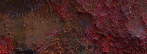 Mars - Central Uplift of Ritchey Crater