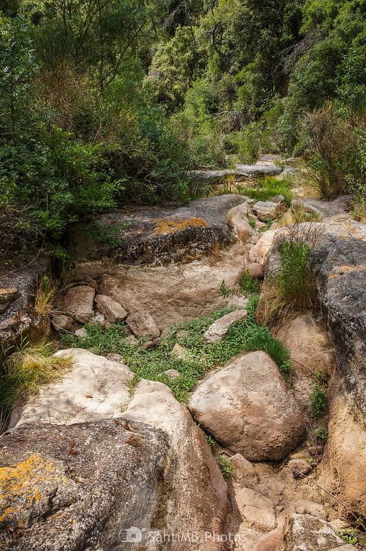 Cruzando el Foix por las Gorges