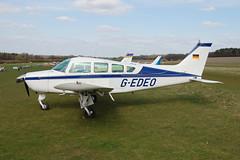 G-EDEO Beech B24R [MC-239] Popham 110410