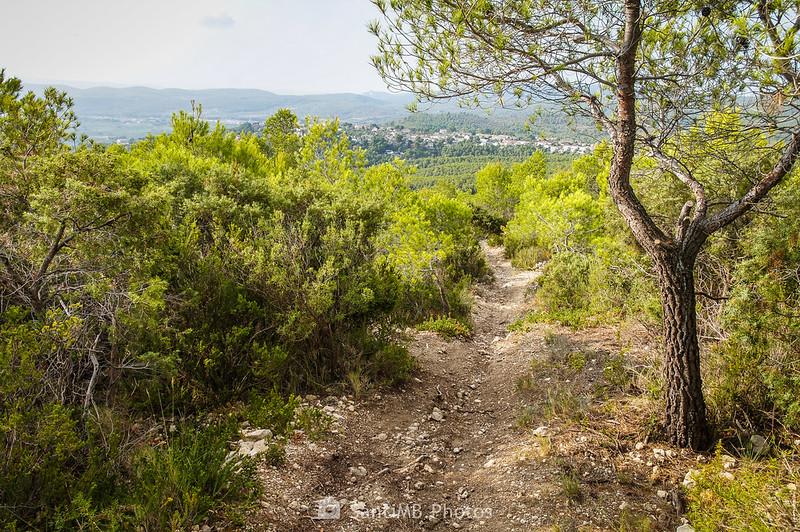 Bajando del Santuari de Foix