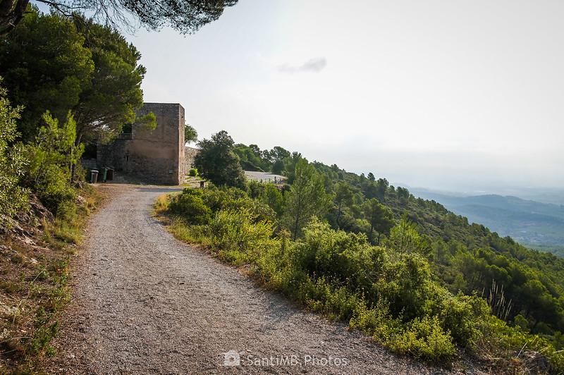 Llegando al Santuari de Foix