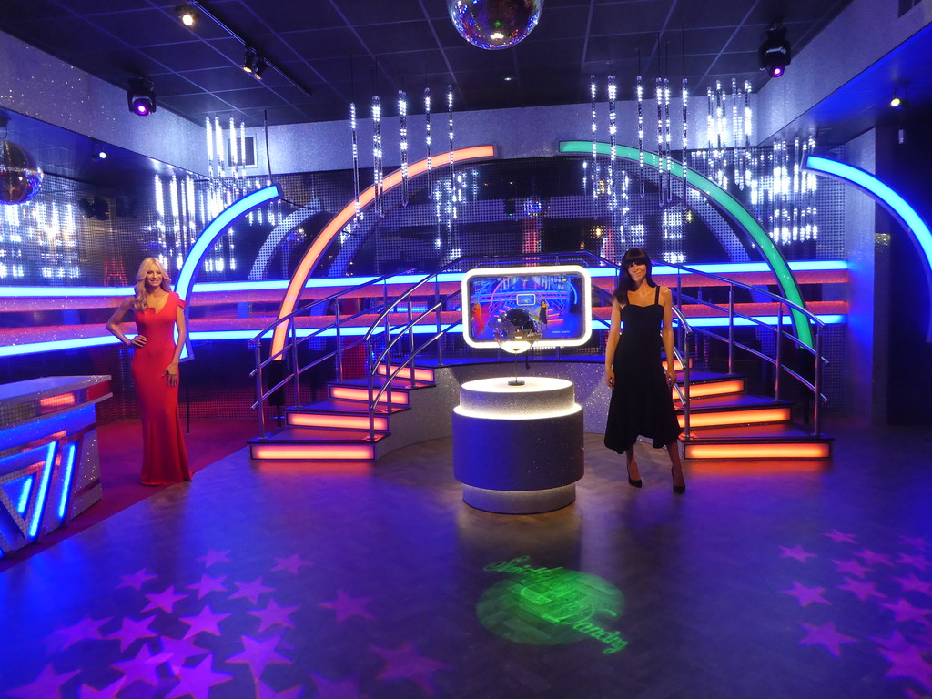 The Strictly Come Dancing stage at Madame Tussauds Blackpool