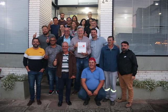 16/01/2020 Visita Prefeitura São Francisco de Paula