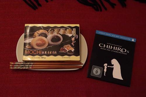 """Mochi zum japanischen Animefilm """"Chihiros Reise ins Zauberland"""""""