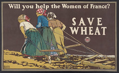 Will you help the women of France Save wheat