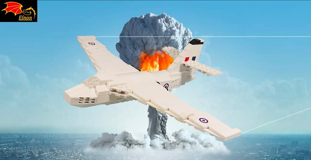 01 Vickers Valiant dropping a Nuclear Bomb