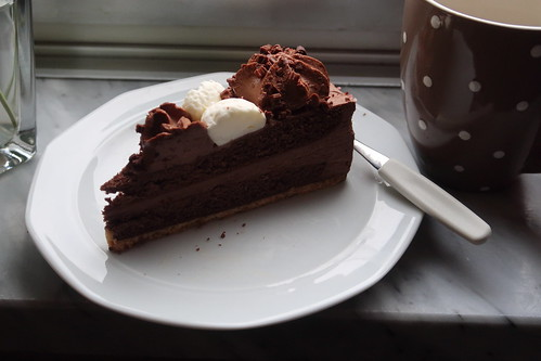 Schokoladen-Sahne-Torte
