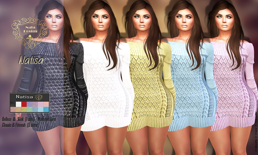Nala Design - New Release - Natisa Knitted Dress
